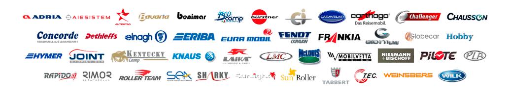 logos marcas autocaravanas