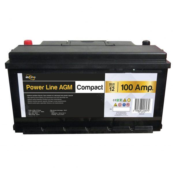 bateria 100 AH COMPACTA