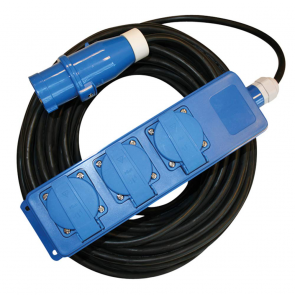 TOMA MULTIPLE ELECTRICA 20 M
