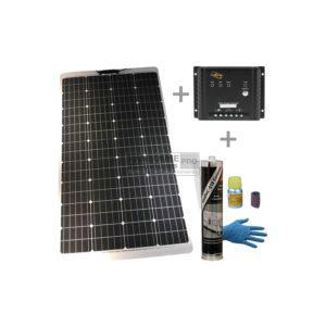 PACK Placa Solar Semi-FLEX 160W MPPT