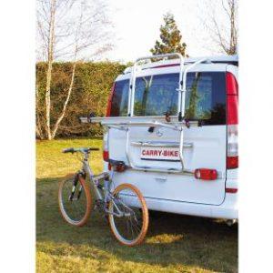 MERCEDES VITO Y VIANO DE 2003 A 2014 incluye barra con luces reglamentarias conector 13 polos Equipo básico para dos bicicletas. Soporte teléscopico para el parachoques. Tornillos en acero inoxidable. No precisa taladros TÜV/GS probado. Carga máxima de 50 kg. Se suministra con equipo para 2 bicicletas.