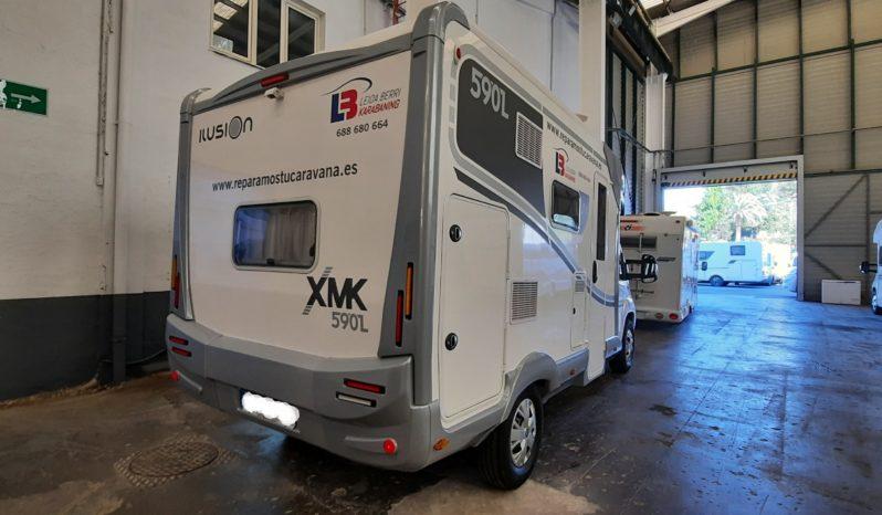 Autocaravana Ilusion XMK 590L – Alquiler completo