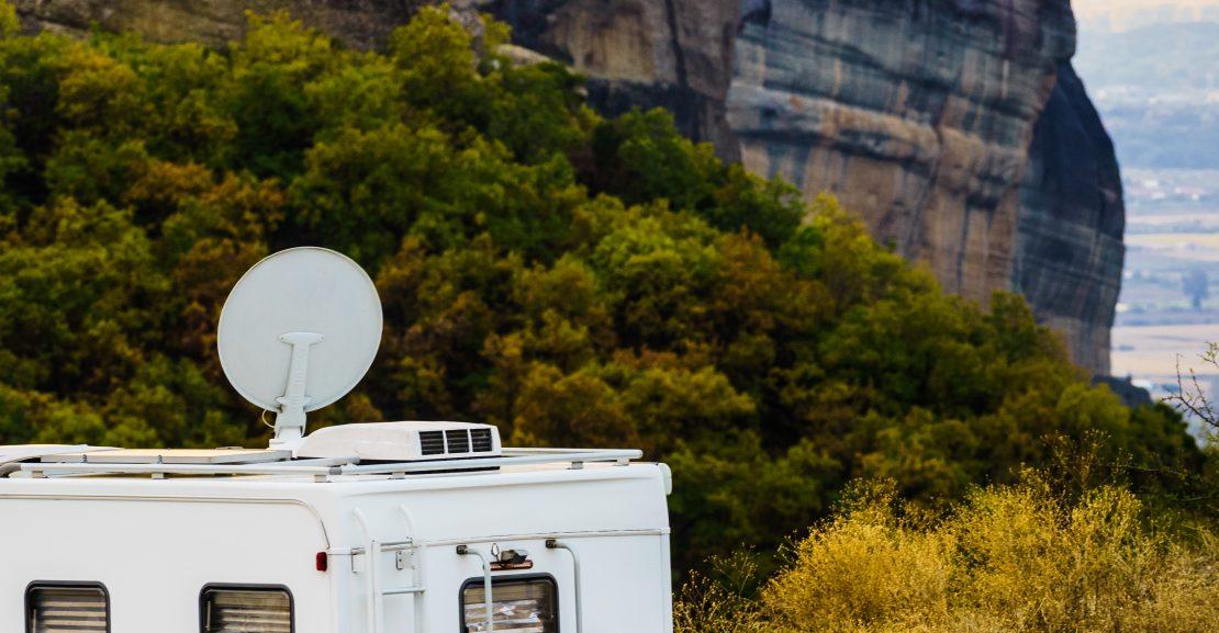 antena parabólica para autocaravana