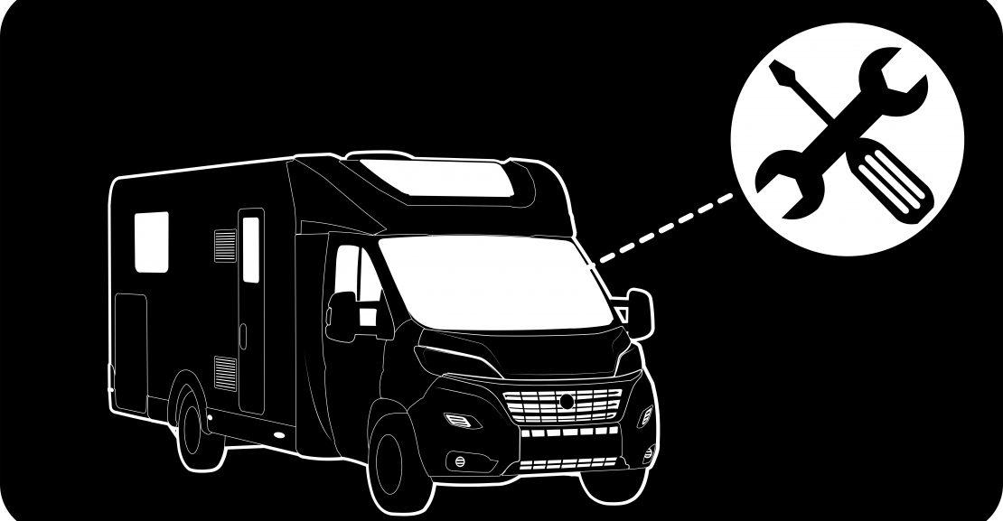 revisión mecánica autocaravana