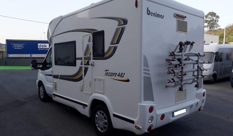 Autocaravana Benimar Tessoro 481 completo